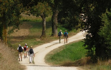 Les randonnées près de Caussens dans le Gers