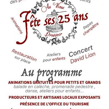 Flyer Au Vieux Pressoir